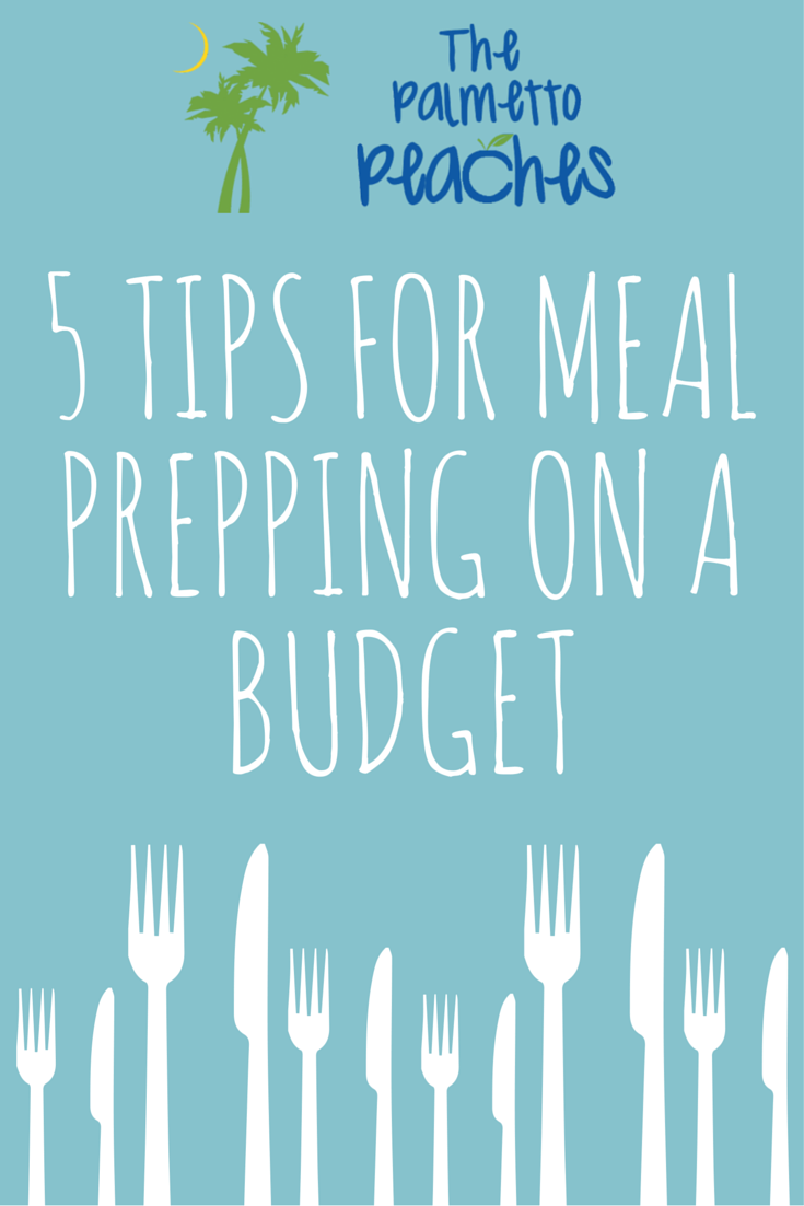 5 Tips for Meal Prepping on a Budget - The Palmetto Peaches - palmsinatl.com