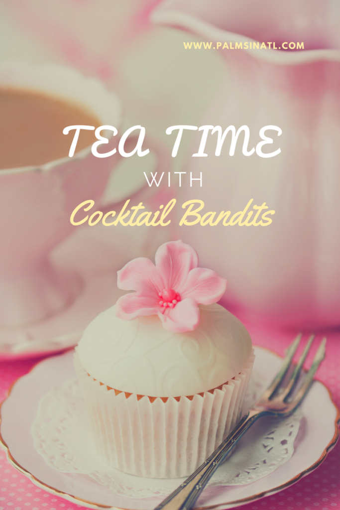 Tea Time with Cocktail Bandits -- The Palmetto Peaches