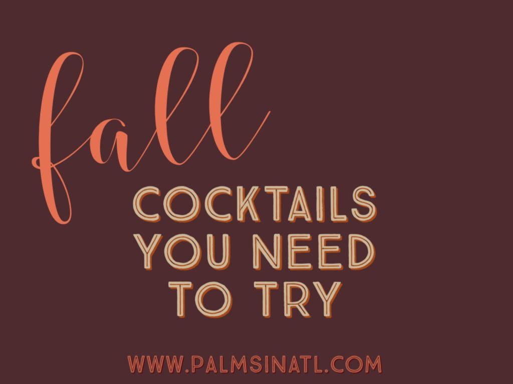 Fall Cocktails You Need to Try -- The Palmetto Peaches