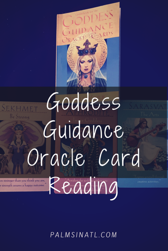 Goddess Guidance Oracle Card Reading - The Palmetto Peaches
