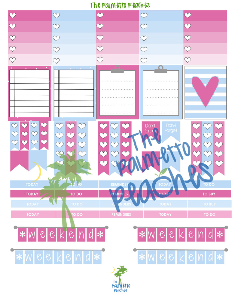 May Day - The Palmetto Peaches - palmsinatl.com - Erin Condren Printables