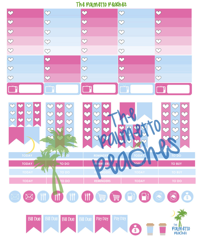 May Day - May Planner Printable - The Palmetto Peaches - palmsinatl.com