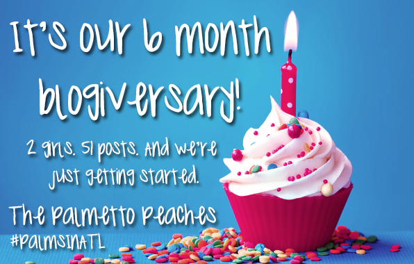 blogiversary - The Palmetto Peaches