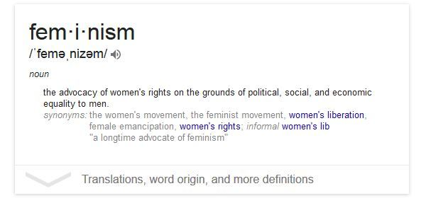 Feminism Is Not A Dirty Word - The Palmetto Peaches