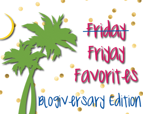 Friday Favorites: Blogiversary Edition - The Palmetto Peaches