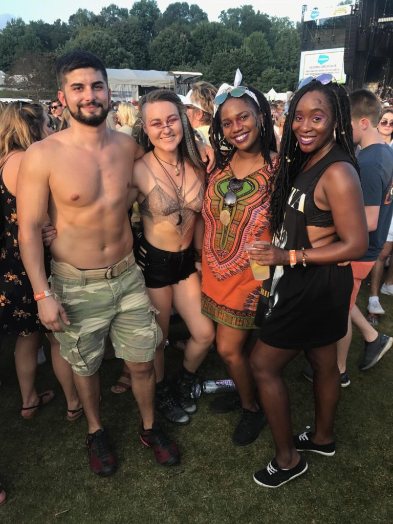 #WordlessWednesday: Music Midtown 2017 - The Palmetto Peaches - palmsinatl.com